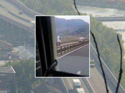 13 kilométert ment szembe a forgalommal Brennernél ez a kamion (videó)
