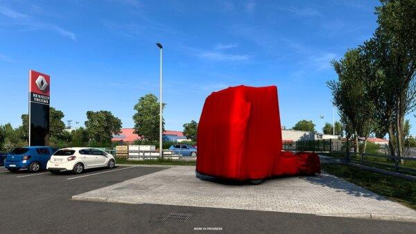 Premiera nowych modeli Renault jakiej jeszcze nie było. Ciężarówki zobaczysz w grze Euro Truck Simul