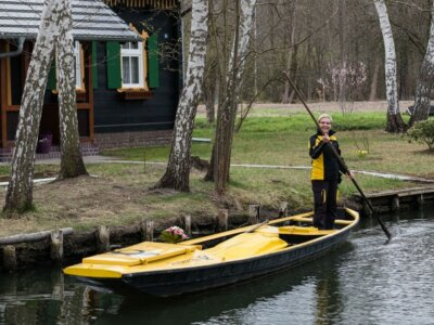 The German village where parcels have been delivered by boat for 124 years