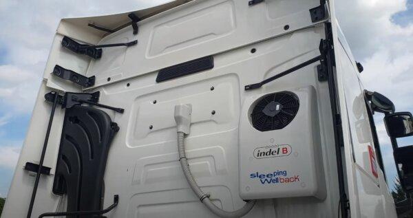 Po nocy w nagrzanej kabinie oczy zamykają im się w trakcie jazdy. Klimatyzatory postojowe obowiązkow