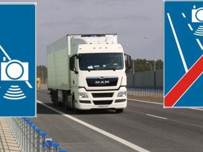 Odcinkowy pomiar prędkości na ekspresówce w Warszawie