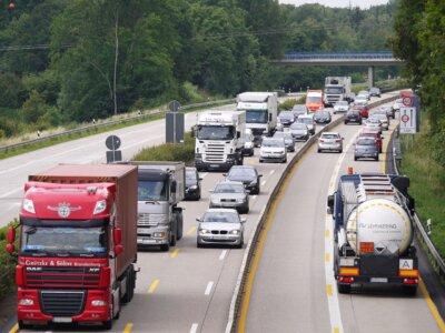 Baustellenabschnitte auf Autobahnen bergen großes Risiko