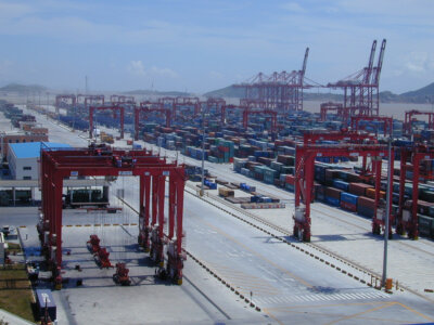 The 10 largest shipping ports of the world