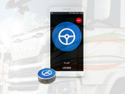 Un transportator belgian folosește un sistem prin care limitează timpul petrecut de șoferii săi pe telefonul mobil