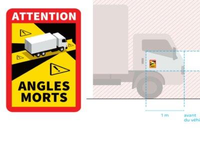 Французские наклейки «Angles Morts» остаются. Еврокомиссия ничего не добилась