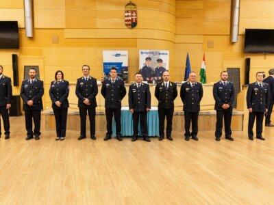 Vasúti dézsmálás – rendőrök munkáját jutalmazta a Rail Cargo Hungaria Zrt.