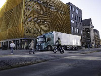 Volvo E-Trucks werden mit akustischem Warnsystem ausgestattet