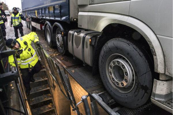 Zapłata natychmiast albo blokada ciężarówki. Szwedzi zaostrzają kary dla zagranicznych przewoźników