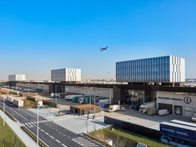 Brucargo: Neues 50.000 m² großes Logistikgebäude eröffnet