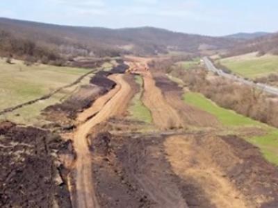 Infrastructură I Începe șantierul autostrăzii A3 în județul Sălaj – un sector de drum dificil de realizat dar spectaculos