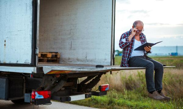 В Литве изменился порядок заполнения электронных анкет для водителей грузовиков
