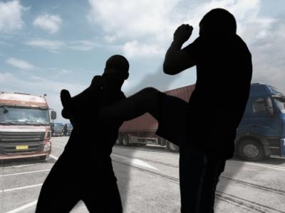 După ce a fost atacat de imigranți, un șofer a început să poarte o armă, fapt pentru care a fost condamnat la închisoare
