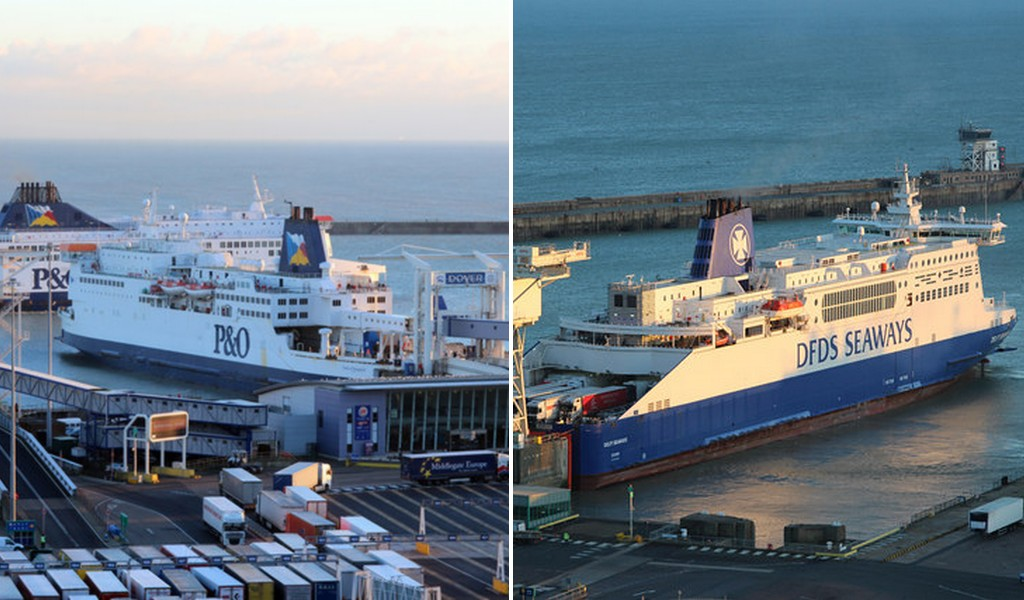 DFDS & P&O agree deal to give freight customers more flexibility on Dover-Calais route