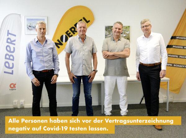 Noerpel-Gruppe wird Inhaber der Logistik2000 AG