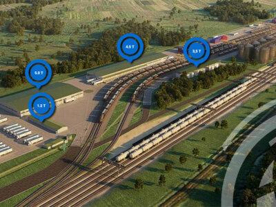 В Украине на границе с Польшей открывается новый контейнерный терминал