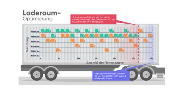 Laderaumoptimierung: besser als ein Transport Management System