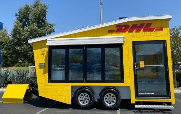 DHL wypuszcza w Kalifornii niezwykły, mobilny punkt obsługi przesyłek