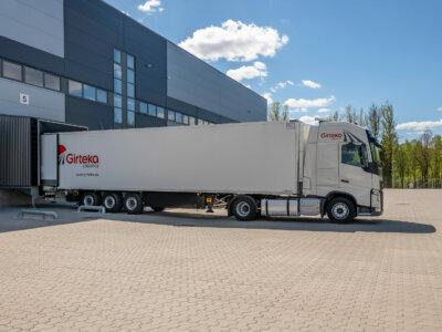 """Girteka Logistics przecenia usługi przewozowe . """"To sposób na ograniczenie pustych przebiegów"""""""