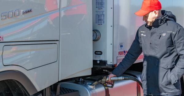 Альтернативное топливо HVO гарантирует снижение эксплуатационных расходов и помогает сократить выбро