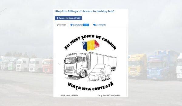 Kamionos összefogás: védjék meg a járművezetőket!