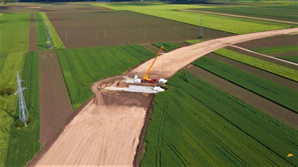 Infrastructură I Filmare în premieră cu șantierul drumului de legătură DN5 – Podul Prieteniei