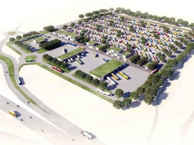 В Дании планируют построить крупнейшую в Европе охраняемую стоянку. Инициатива бывшего дальнобойщика