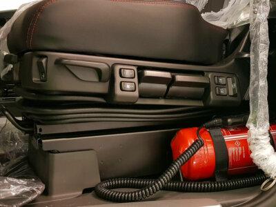 Норвежская инспекция выявляет автомобили с опущенным основанием сиденья. «Для этого необходимо специальное разрешение»
