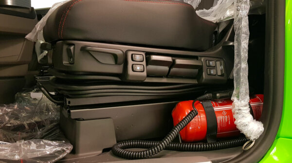 Норвежская инспекция выявляет автомобили с опущенным основанием сиденья. «Для этого необходимо специ
