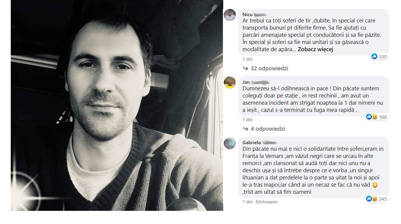"""Kolegos nužudymas sukrėtė sunkvežimių vairuotojus. """"Prancūzija, esi vieno iš mūsų nužudymo bendrininkė"""""""