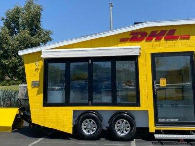 Szokatlan mobil csomagfeladási pontot helyez üzembe a DHL