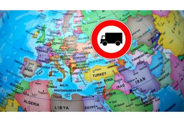 Am 13. Mai Fahrverbot für Lkw in einigen Ländern
