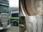 Lorry with 4 broken brake discs and missing brake pads stopped in Germany