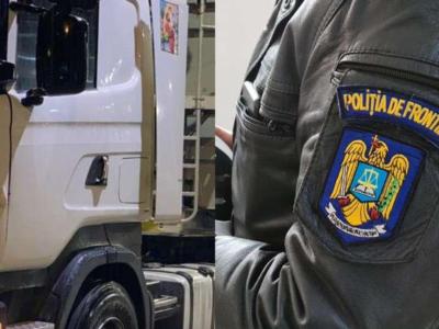 Poliția de Frontieră a descoperit aproape 4 tone de tutun ascunse într-un camion