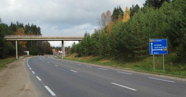 Rekonstrukcijai ruošiamas kelias Kaunas–Prienai–Alytus