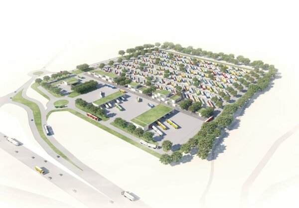 Europe's largest secure lorry park to be built in Denmark