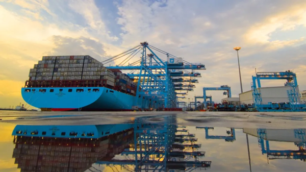 Even $1bn for acquisitions. Maersk eyes development of business on land