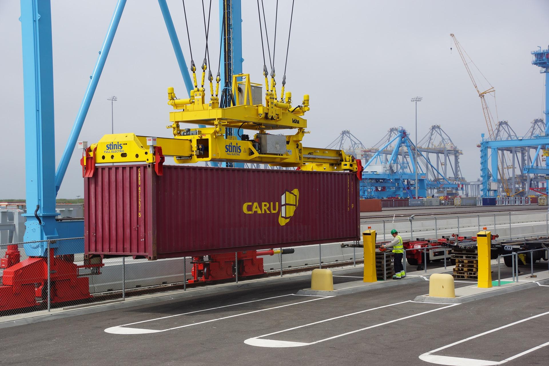 Stawki za kontenery z Chin pobiły kolejny rekord. Jest pięć razy drożej niż rok temu