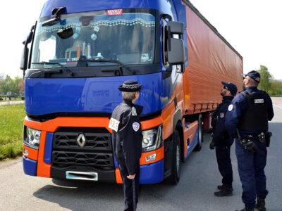 Запрет каботажных перевозок на год. Такие штрафы налагаются французами