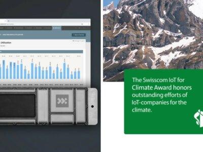 Nexxiot nets 2021 Swisscom IoT Climate Award