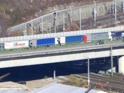 To będzie sądny maj. Tyrolczycy nie mają litości dla kierowców ciężarówek