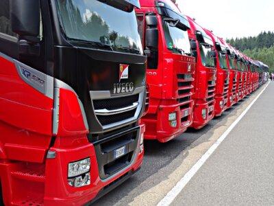 Belgien: Am Trucker's Day wird buchstäblich der rote Teppich ausgerollt