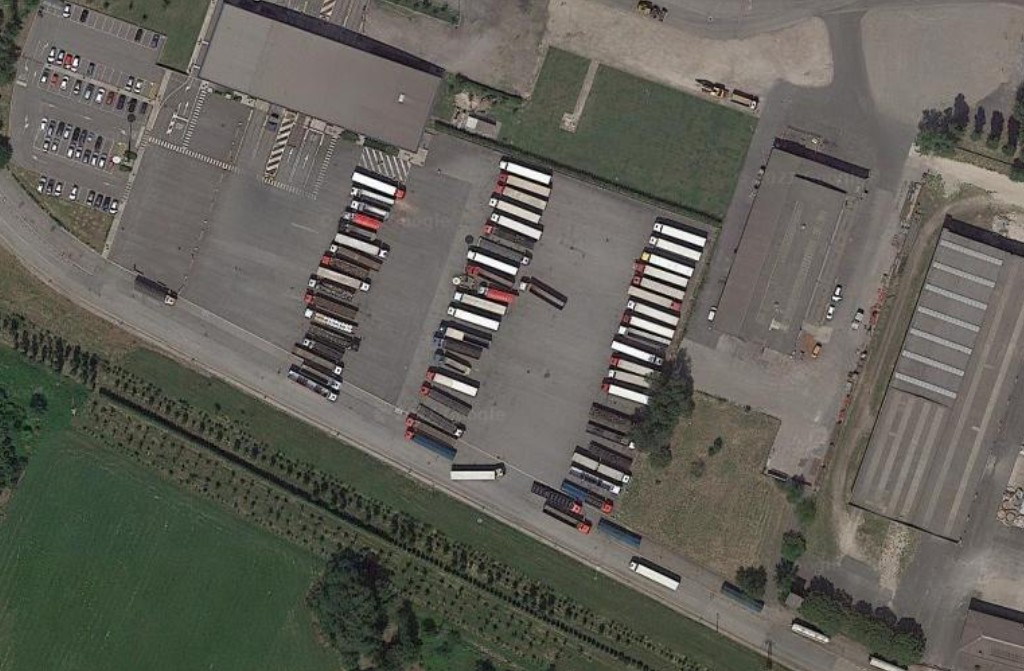 Truck driver found dead with knife wounds in Italian lorry park