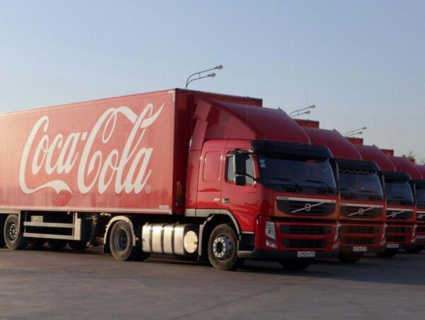 Coca-Cola HBC nawiązała współpracę z Shippeo. Pełna widoczność kilkuset tysięcy ciężarówek