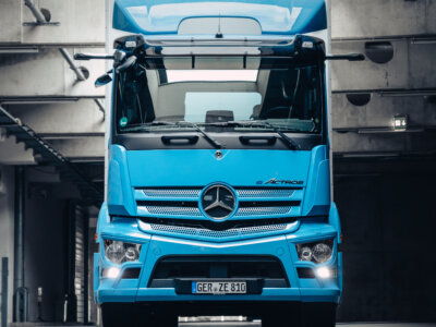 Weltpremiere des neuen Mercedes-Benz Trucks eActros
