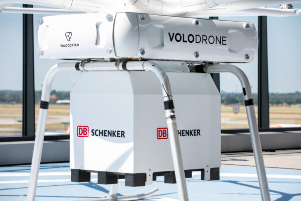 DB Schenker shows off its 'VoloDrone' in Berlin