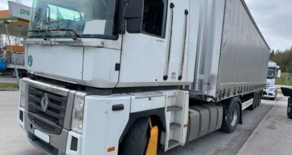 Teherautók százai folytatnak illegális kabotázst Svédországban