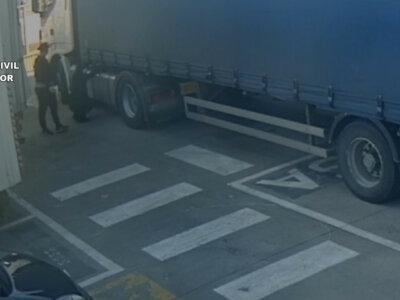 Spanier legten einer Lkw-Gang das Handwerk