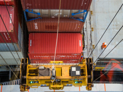 Emergency surcharge to be paid per container at Rotterdam Short Sea Terminals