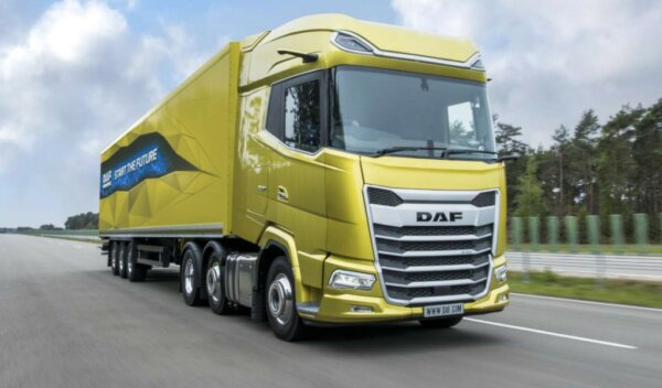 DAF sells 1,000 of its new truck models in under a month