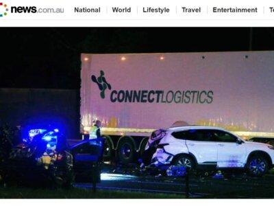 Už avarijos sukėlimą vairuotojas nuteistas kalėti 22 metus. Prokuratūra: kaltas ir vežėjas